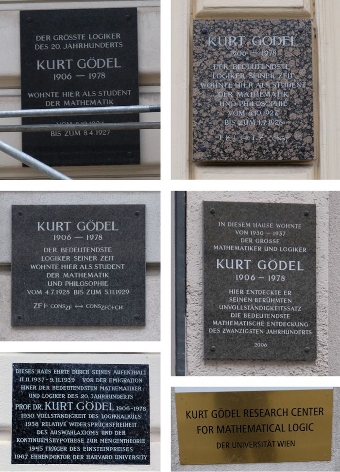 Tragic deaths in science: Kurt Gödel - looking over the edge of reason image