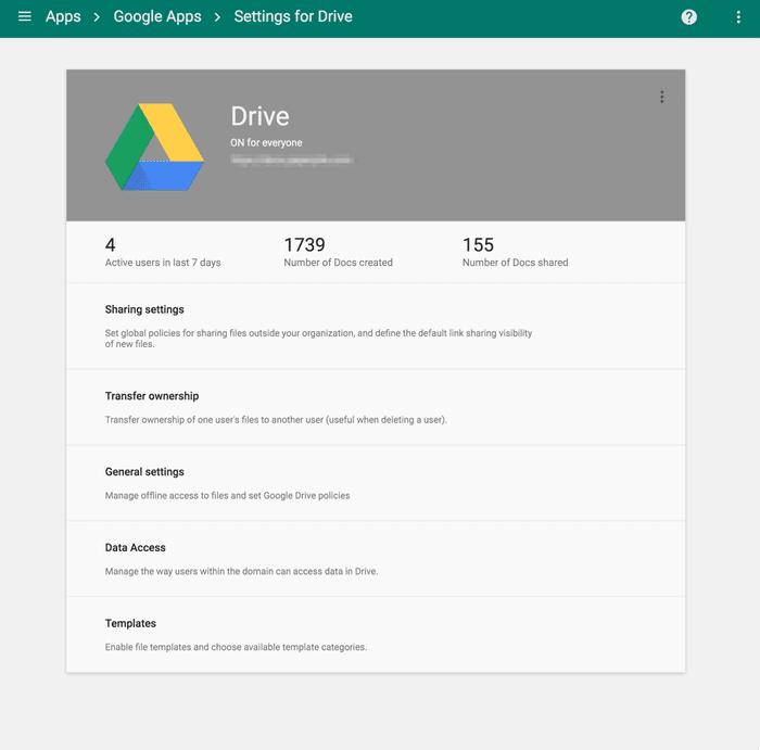 Google Drive data security