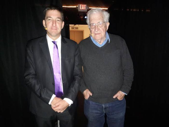 Noam Chomsky and Glenn Greenwald