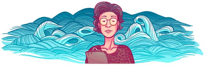 Google doodle of Katsuko Saruhashi