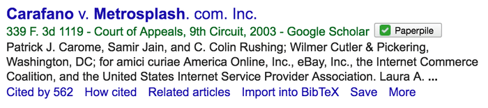 Adding legal cases from Google Scholar