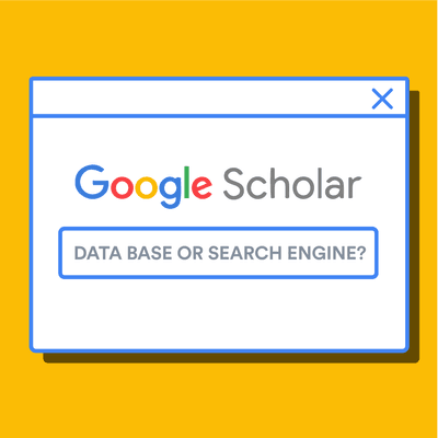 Is Google Scholar a database or search engine