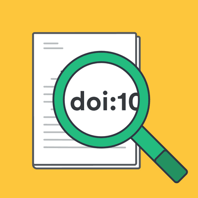 How to find a DOI image