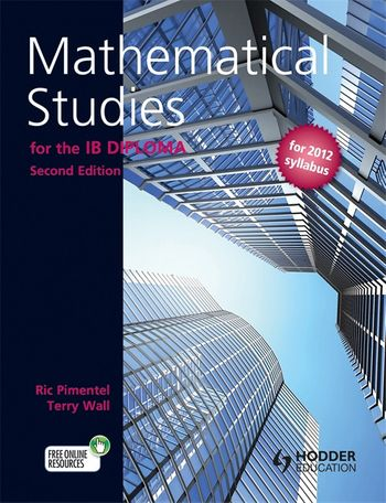 Textbook cover of Mathematical Studies