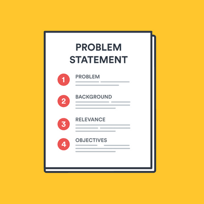 How to write a problem statement image