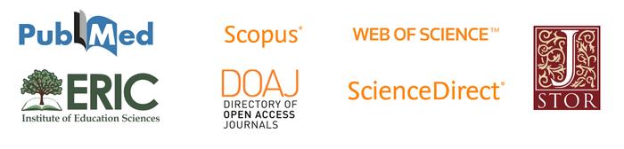 Logos of academic databases