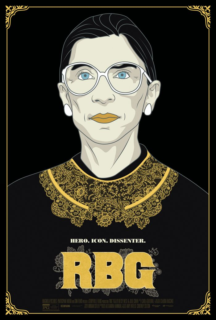 RBG movie poster by Magnolia Pictures
