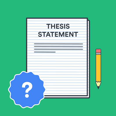 What is a thesis statement? image