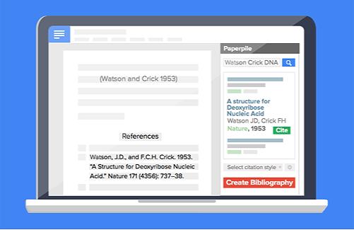 Citations in Google Docs