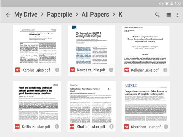 Google desktop research papers